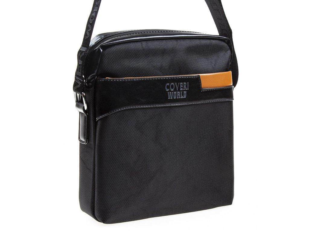 Pánská taška přes rameno Coveri 6204 černá ModexaStyl (1)