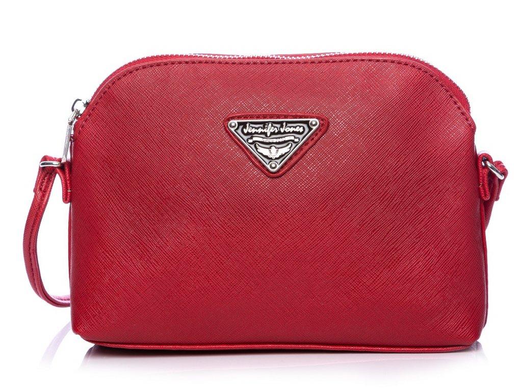 Malá kabelka přes rameno Crossbody červená Jennifer Jones 3820 ModexaStyl (2)