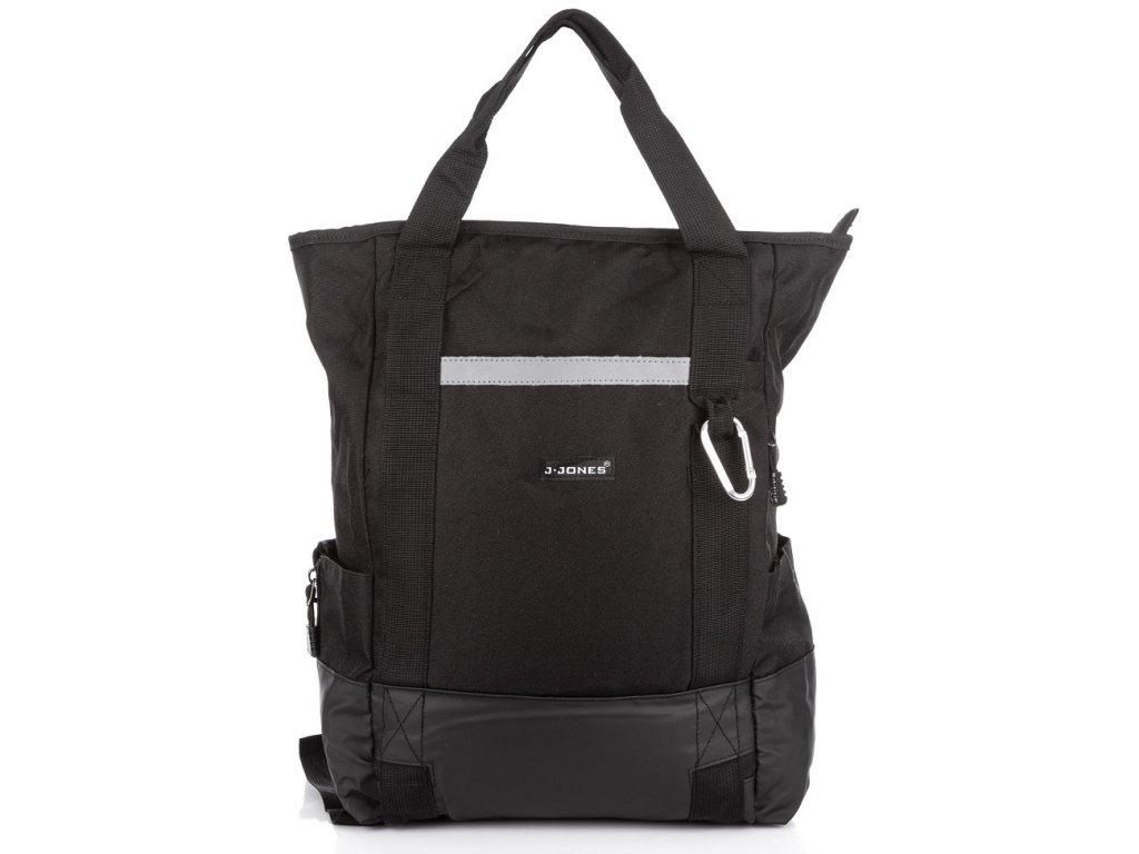 Batoh a taška v jednom černý J Jones 4095 ModexaStyl (9)