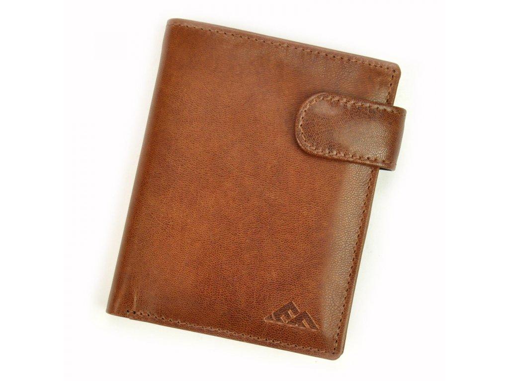 Pánská kožená peněženka hnědá El Forrest 543 26 Modexastyl (9)