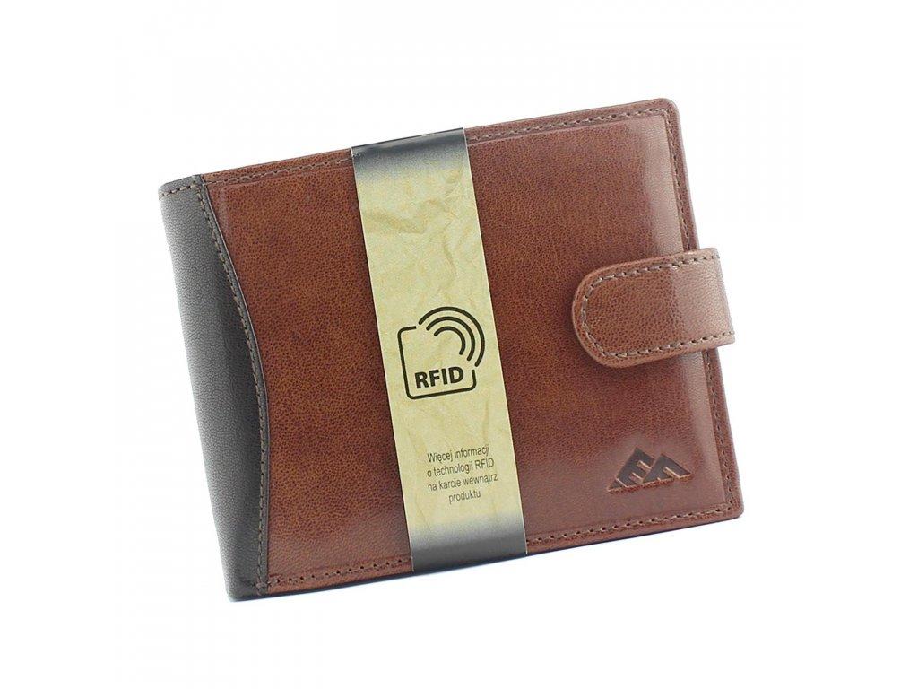Pánská kožená peněženka El Forrest hnědá 545 21 Modexastyl (1)