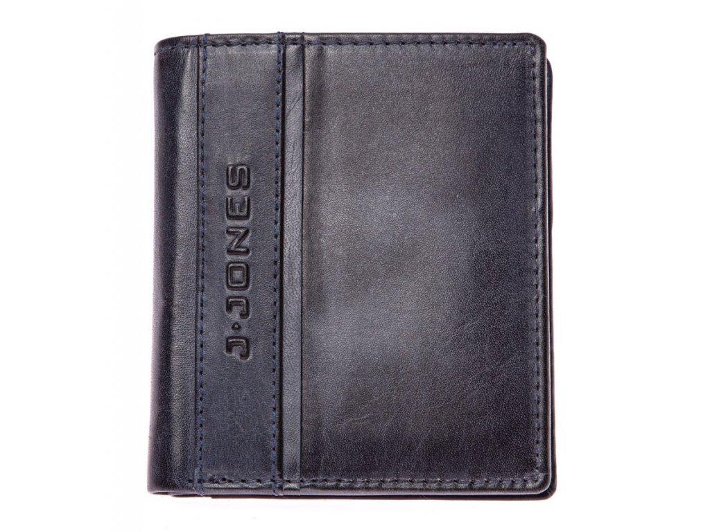 Pánská kožená peněženka modrá J Jones 5706 ModexaStyl (2)