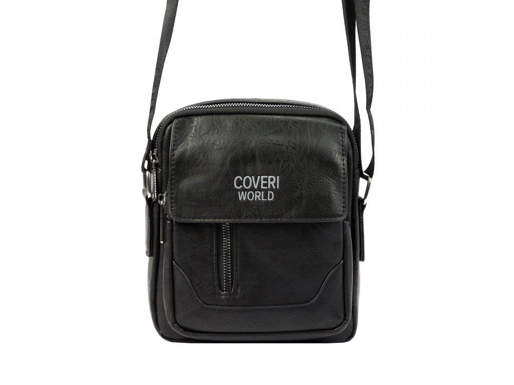 Pánská taška přes rameno Coveri World černá 2158 ModexaStyl (1)