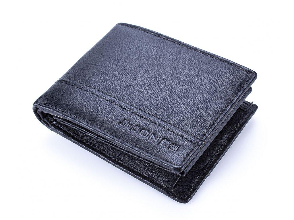 Pánská kožená peněženka černá J Jones 5313 BK ModexaStyl (3)
