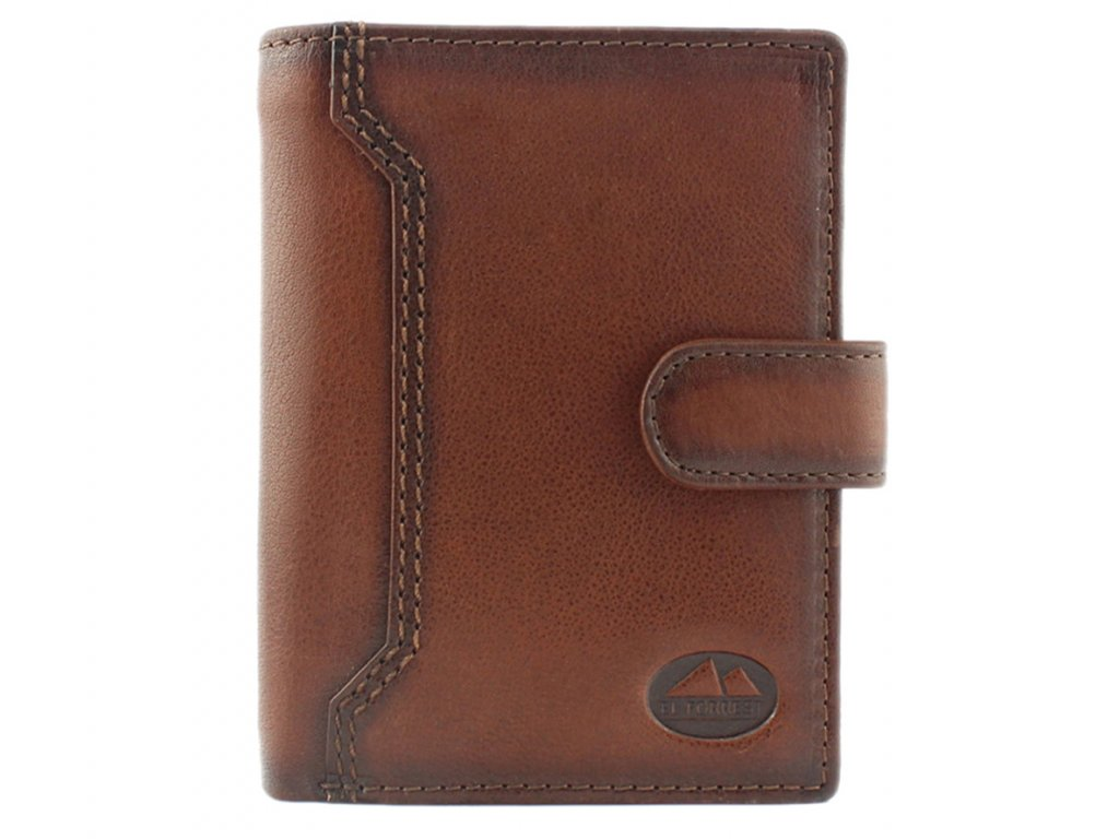 Pánská kožená peněženka hnědá El Forrest 852 29 ModexaStyl (2)