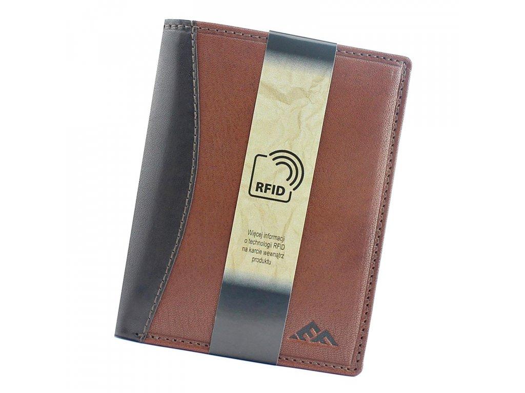 Pánská kožená peněženka hnědá El Forrest 544 21 ModexaStyl (1)