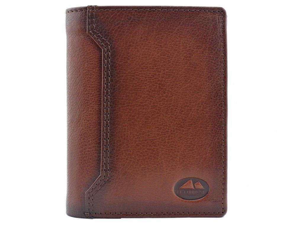 Pánská kožená peněženka hnědá El Forrest 859 29 ModexaStyl (2)