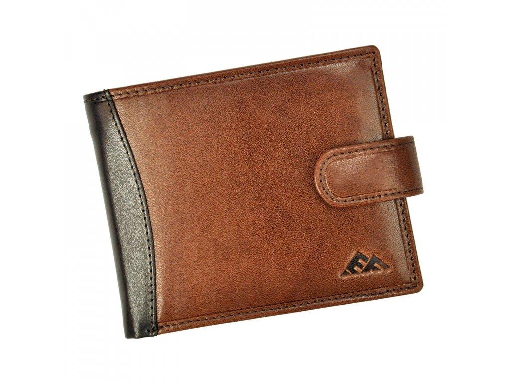 Pánská kožená peněženka hnědá El Forrest 556 21 ModexaStyl (1)