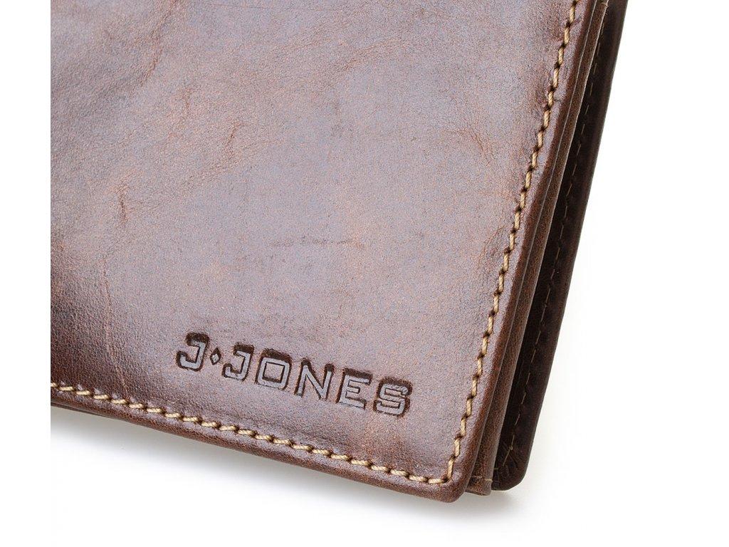 537b10067 Pánská kožená peněženka 5463-1 - hnědá - ModexaStyl.cz
