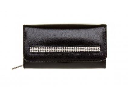 Dámská kožená peněženka CPR014-CRY černá