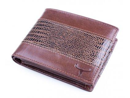 Pánská kožená peněženka hnědá Buffalo Wild N992 VTC BN ModexaStyl (12)