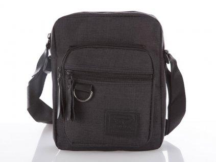 Pánská malá taška přes rameno 4073 - černá