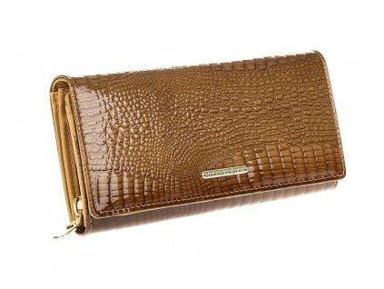 Dámská kožená peněženka Jennifer Jones 5288 hnědá koňaková (3)
