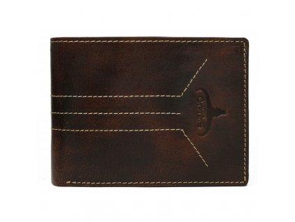 pánksá kožená peněženka hnědá N992 HP3 R (2)