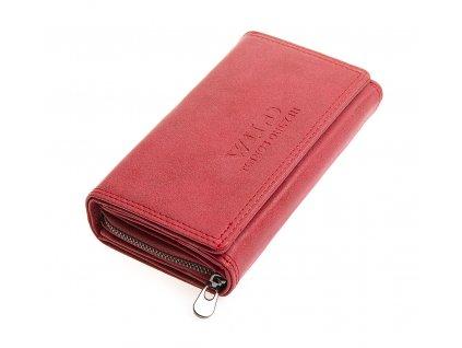 Dámská kožená peněženka červená Jennifer Jones 11033 WRD (3)
