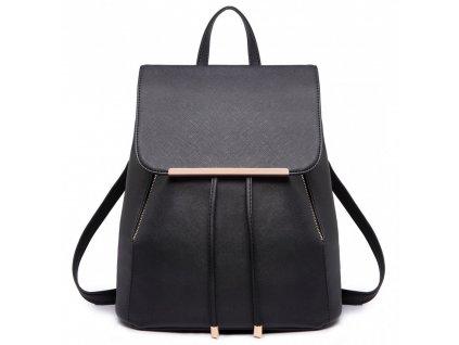 Dámský batůžek Miss Lulu E1669 BK černý (4)