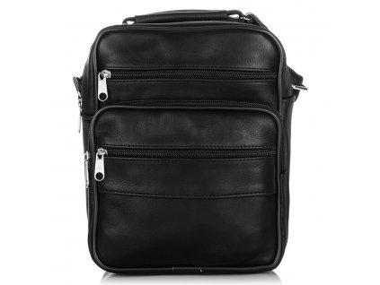 pánská malá kožená taška přes rameno AB 71 (1)