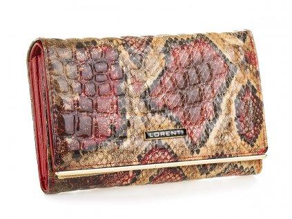 Dámská kožená peněženka Lorenti 74112 DRK RED červená (7)
