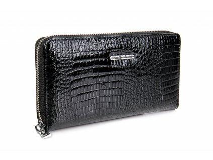 Velká dámská kožená peněženka černá Jennifer Jones 5247 2 BK (1)
