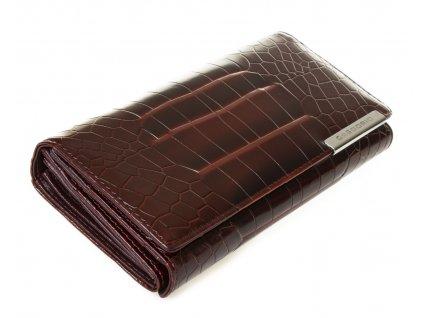 Dámská kožená peněženka Gregorio GF 103X hnědá (1)