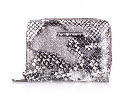 Malá dámská kožená peněženka šedá 5248 5 GY (2)
