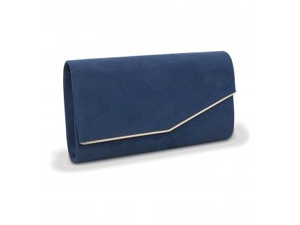 Večerní kabelka psaníčko 18011 modrá (3)