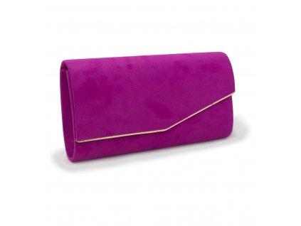 Večerní kabelka psaníčko 18011 fialová (3)