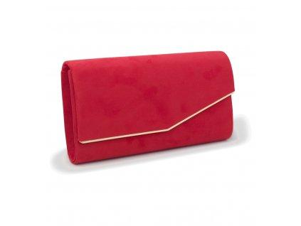 Večerní kabelka psaníčko 18011 červená (3)