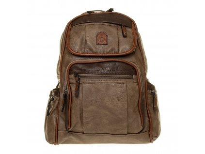 Dámský kožený batoh hnědý YGC 536 (3)