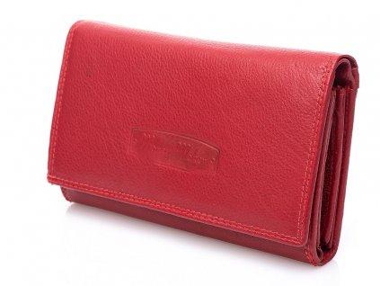 Dámská kožená peněženka Money maker 12135B červená ModexaStyl (3)