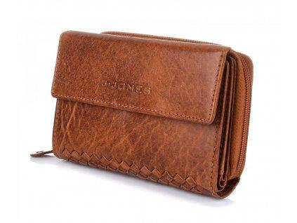 Dámská kožená peněženka hnědá Harolds 5626 (4)