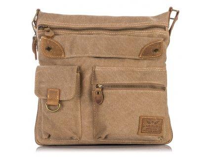 Pánská taška přes rameno 4542 Harolds hnědá