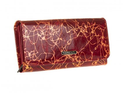 Dámská kožená peněženka Lorenti červená 76110 CV RD (3)
