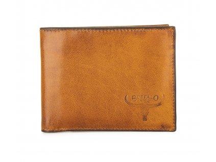 Pánská kožená peněženka Buffalo Wild hnědá N702GG (3)