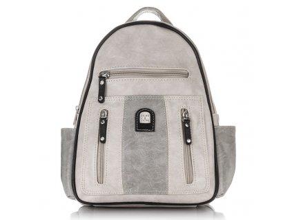Módní dámský kožený batoh Charm Schape MB 15 (1)