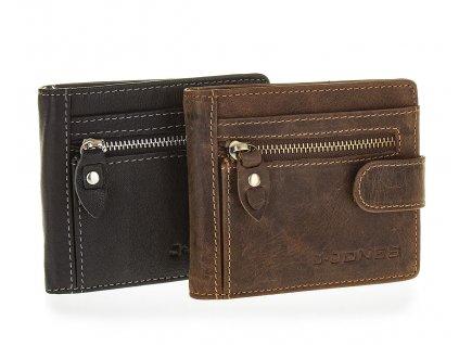 Pánská kožená peněženka dolarovky Jennifer Jones 5533 (3)