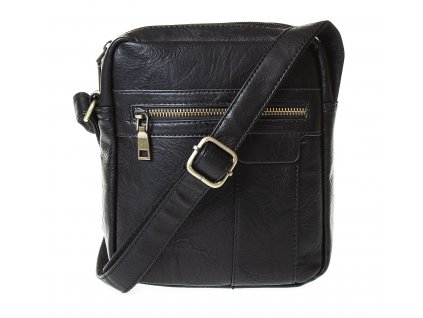 Pánská taška přes rameno černá umělá kůže Paula Rossi 9500 2 (7)