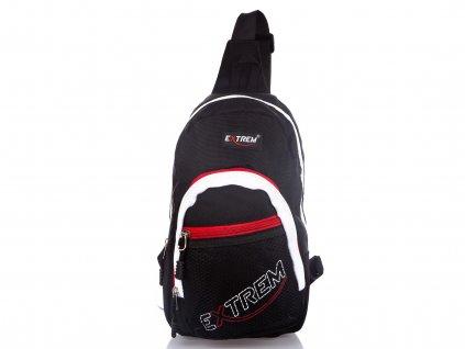 Malý batoh přes jedno rameno Bag Street Extrem 4242 BK černý (2)