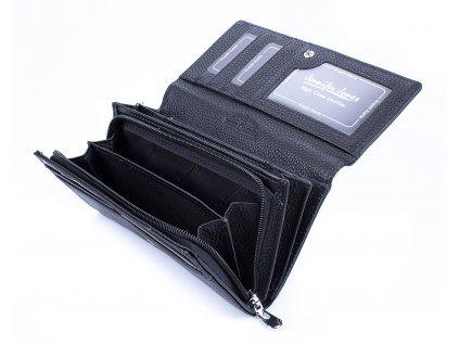 Dámská kožená peněženka Jennifer Jones 5274 černá (3)