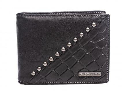 Pánská kožená peněženka dolarovka černá J JONES 5564 BK (2)