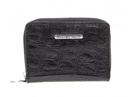 Malá dámská kožená peněženka Jennifer Jones 5248 7 černá ModexaStyl (3)