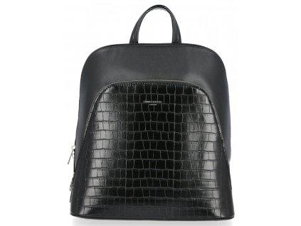 Dámský kožený batůžek David Jones 5615 černý ModexaStyl (5)