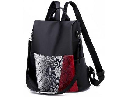 Dámský batoh a kabelka batůžek 2v1 GIL Bags 2037 ModexaStyl (2)