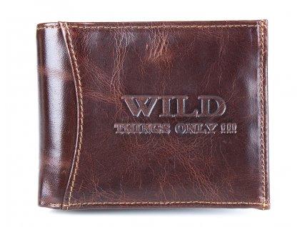 Pánská kožená peněženka Wild 5504 hnědá ModexaStyl (2)