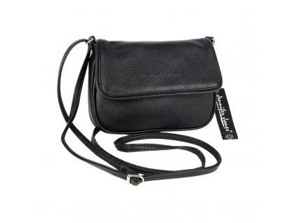 Malá kabelka přes rameno černá Jennifer Jones 3967 ModexaStyl 9