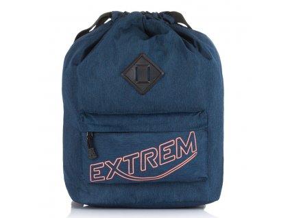 Stylový městský batoh vak Bag Street Extrem 2306 modrý ModexaStyl (1)