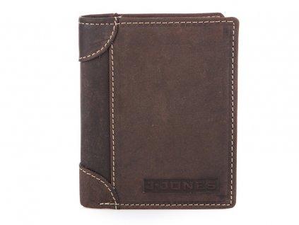 Pánská kožená peněženka J JONES hnědá 5333 BN ModexaStyl (3)