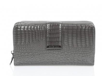 Dámská kožená peněženka Jennifer Jones 5280 2 GY šedá ModexaStyl (2)