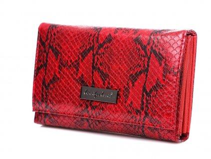 Dámská peněženka hadí kůže Jennifer Jones 1103 6 červená ModexaStyl (4)