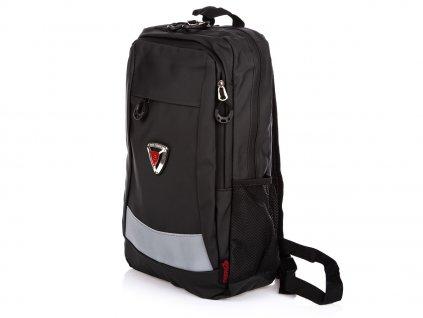 Stylový pánský městský batoh bag Street 4094 černý ModexaStyl (3)